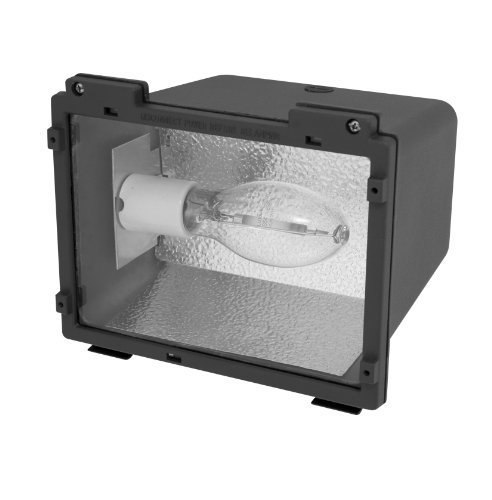 Howard Lighting SFL-100-MH-4T  Flood Light with 100W Metal Halide M90/E, Small - Hid Fixture Quad Tap