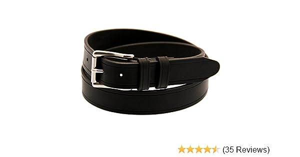 42de481988b Made In USA 1 1 4 Black Latigo Leather Belt Saddle Groove Roller Buckle at  Amazon Men s Clothing store  Apparel Belts