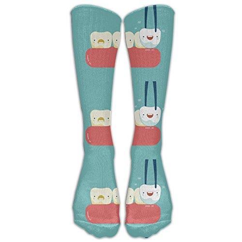Novelty Change Of Baby Teeth Unisex Knee High Socks Athletic Sport Socks