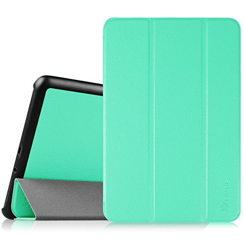 Fintie Samsung Galaxy Tab A 8.0 Case - Ultra Slim Lightweight Smart Shell Stand Cover with Auto Sleep/Wake Feature for Tab A 8.0 Inch Tablet, Mint Green