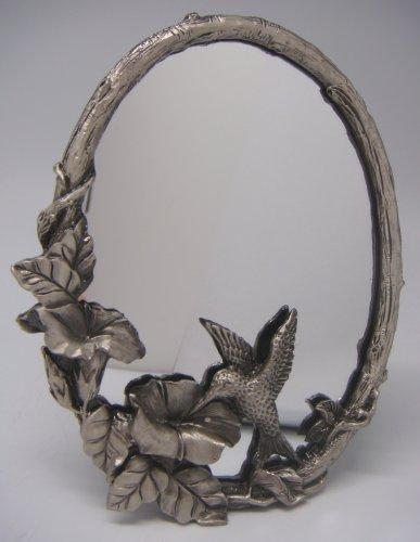 Silver Dresser N Mirror (3½ x 5 Humming Bird - Mirror (Item # 835))