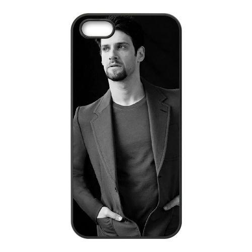 Justin Bartha coque iPhone 5 5S cellulaire cas coque de téléphone cas téléphone cellulaire noir couvercle EOKXLLNCD24997