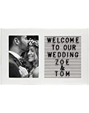 Pearhead Happily Ever Wishes Frame, Cherish Wedding Memories, Alternative Guest Book Ideas