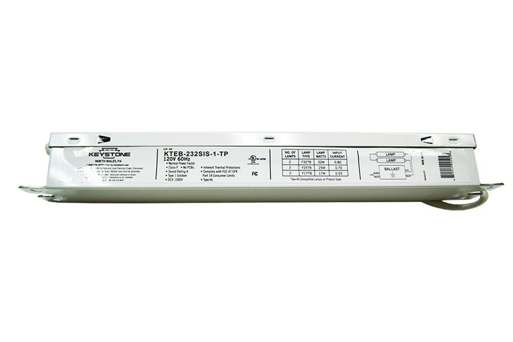 Keystone Ballast 2 Lamp Model: KTEB-232SIS-1-TP ~ Direct Replacement for Accupro Model: AP-RS-232IS-120 / AK-RS-232IS-120 (5)