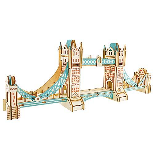 bridge building kit wood - 8