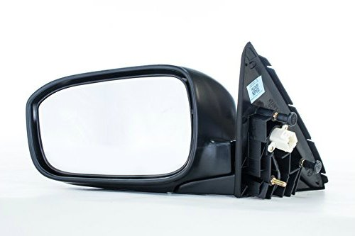Dependable Direct Left Driver Side Unpainted Non-Heated Folding Power Operated Door Mirror for US/Mexico Built Honda Accord Sedan (2003 2004 2005 2006 2007)