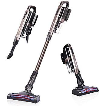 Cordless Vacuum Cleaner, 21 KPa Super Suction, Lightweight Handheld Stick Vacuum Cleaner Brushless Motor for Hard Floor, Pet Hair