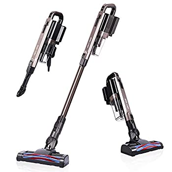 Image of Cordless Vacuum Cleaner, 21 KPa Super Suction, Lightweight Handheld Stick Vacuum Cleaner Brushless Motor for Hard Floor, Pet Hair (Only 1 Battery) Home and Kitchen