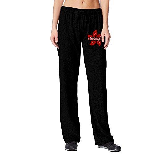 BakeOnion Women's Hong Kong Jogger Sweatpants XL Black ()