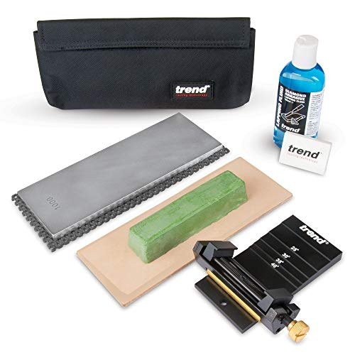 Trend DWS/KIT/B Diamond Whetstone Honing and Polishing Kit, ()