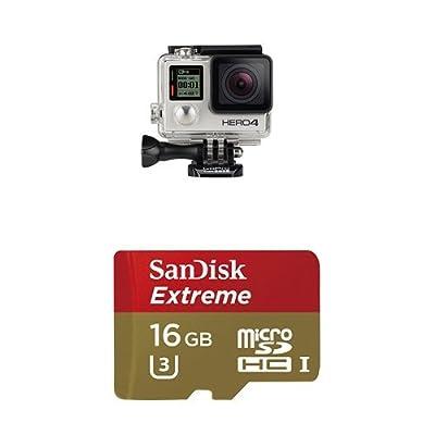 GoPro HERO4 SILVER w/ 16GB Memory Card