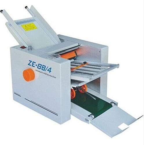 ZE-8B/4 Automatic Paper Folder Machine Paper folding machine 4 Fold plate by CGOLDENWALL