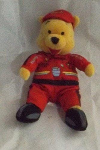 Race Car Bean - Winnie the Pooh Mini Bean Bag Race Car Pooh 8 Inch Disney Store Exclusive Plush