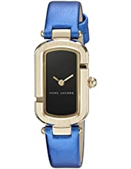Marc Jacobs Womens The Jacobs Metallic Blue Leather Watch - MJ1501