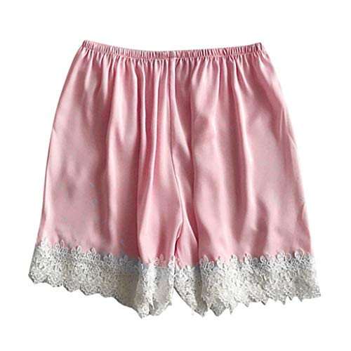 Simayixx Shorts for Women Sexy Lace Sleepwear Lounge Pants Black Pajamas Pjs Teen Girls Pink Underwear Lingerie Plus Size