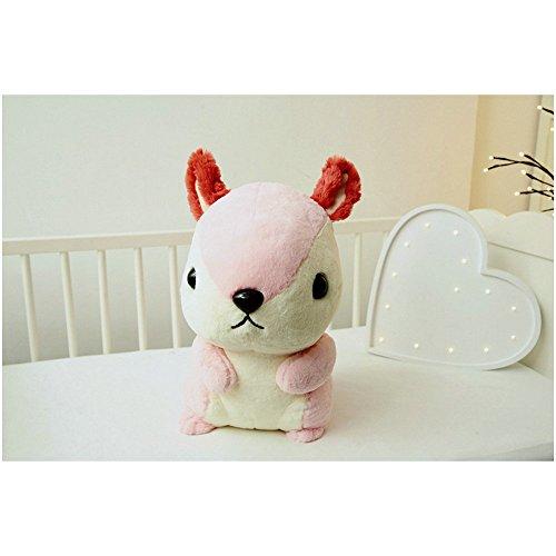 [YuanShiming Cuddly Soft Stuffed Animal Toy Pink Squirrel Doll (Pink)] (Marlon Brando Costumes)