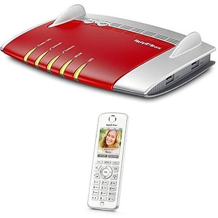 Set AVM FRITZ!Box 7490 WLAN AC+N Router + AVM FRITZ!Fon C4 Telefon