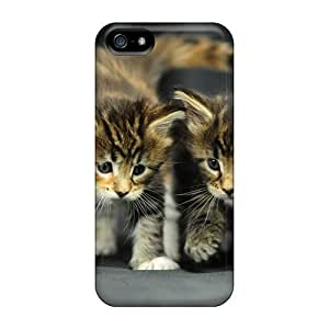 Anti-scratch And Shatterproof Cute Kitten Animals Phone Case For Iphone 5/5s/ High Quality Tpu Case