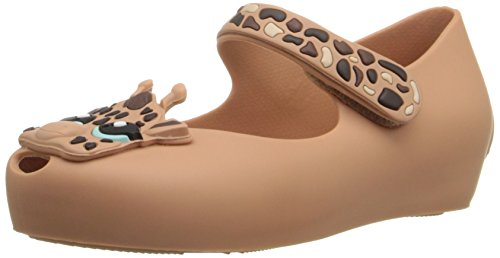 Mini Melissa Ultragirl Iv Bb Mary Jane Shoe  Toddler   Brown Matte  9 M Us Toddler