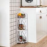 Corner Shelf,Corner Ladder Shelf for Living