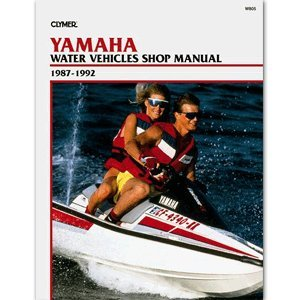 CLYMER YAMAHA PERSONAL WATERCRAFT 1987-1992 ''Prod. Type: Boat Outfitting'' by OEM