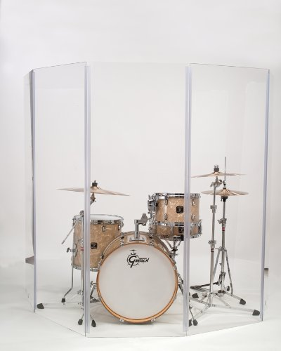 Acrylic Drum Shield - Gibraltar Drum Shield 5.5 x 10 T Panel