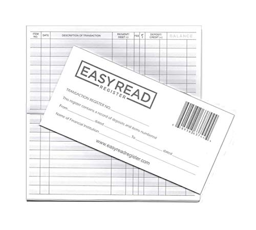 Bestselling Check Registers