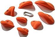 Nicros Simple Jugs, Orange, 8 lbs