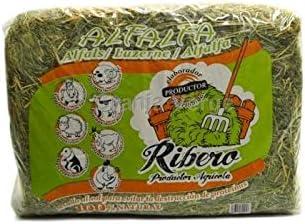 Ribero Heno de Alfalfa para Conejos y roedores, 5 kg