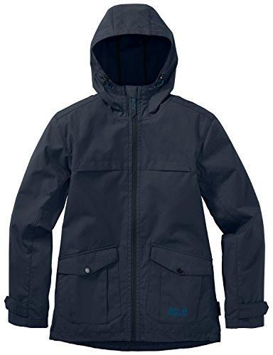 Jack Wolfskin Boys Amber Road F65 Jacket  Night Blue  Medium  152 158