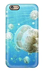 High-end Case Cover Protector For Iphone 6(amazing Jellyfish Invasion)
