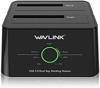 Wavlink WL-ST334U B12TB Universal USB 3.0 Dual Bay Dock