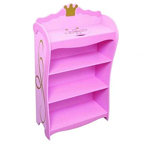 KidKraft Princess Bookcase, Pink ()