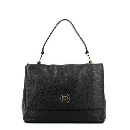 sac main à Liya en vachette Noir Noir dq0d1fxB
