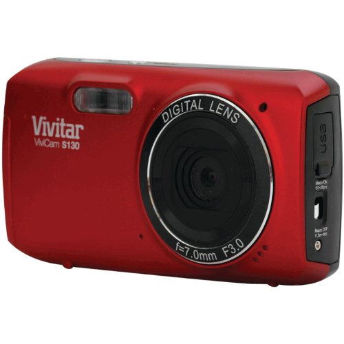 Vivitar 16MP Digital Camera - Red