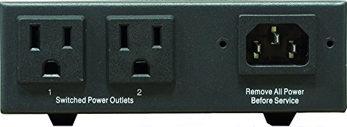 Remote Power Switch NP-02 2 Switchable Outlets. UL-STD TUV listed. Designed, manufactured and supported in USA. Control Via Web, Telnet, RS-232, External Modem interface. by Synaccess (Image #1)