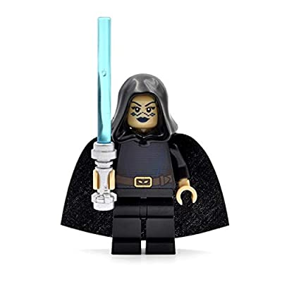 LEGO Star Wars Barriss Offee Minifigure (with Cape and Lightsaber) 8091: Toys & Games
