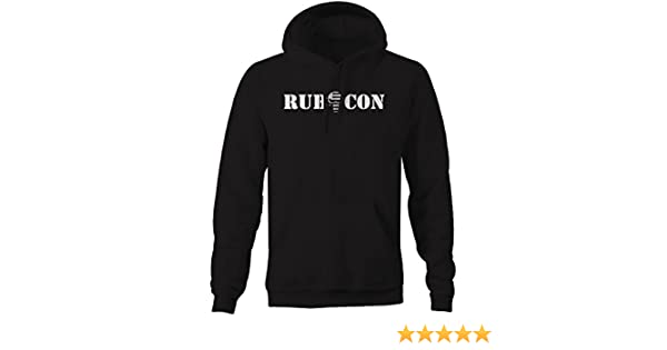 4x4 Rubicon Punisher US Flag Skull Offroad American Mens Sweatshirt