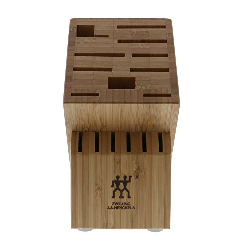 ZWILLING J.A. Henckels TWIN 16-slot Knife Block - Bamboo by ZWILLING J.A. Henckels (Image #2)