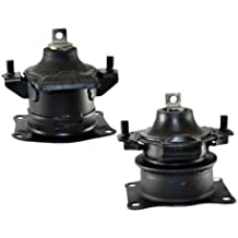 K0510 Fits Acura RL/TL 3.2L 3.5L 2004-2008 AUTO Front & Rear Motor Mount Set 2PC : A4526HY, A4599HY