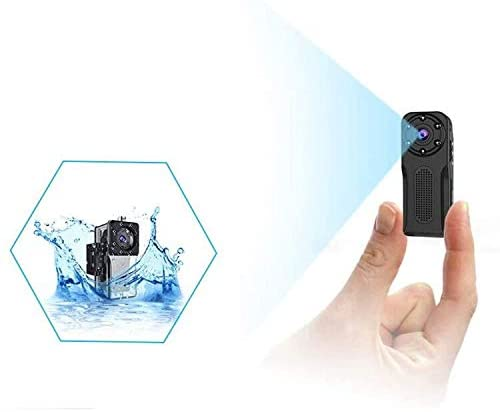 Wireless Security Camera Outdoor//Indoor Waterproof Mini Spy Camera MHDYT 1080P Full HD Small Portable Hidden Camera//Body Camera with Motion Detection and Night Vision