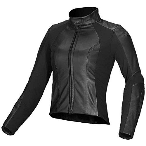 Alpinestars Women's Vika Leather Jacket - 40/Black