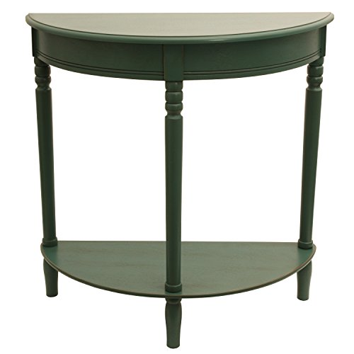 Décor Therapy FR1800 Half Round Table, 28.25