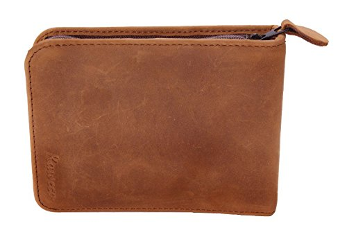 Kaweco Travel Etui for 6 pens, Vintage genuine Leather, brown