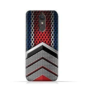 Lenovo K8 Plus TPU Silicone Case With Geometric Mesh Pattern Design