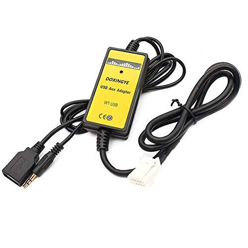 REFURBISHHOUSE 6 + 6PIN autoradio Digitale USB con interfaccia MP3 Caricatore CD con Ingresso AUX da 3, 5 mm per Toyota Lexus Corolla Series 169810