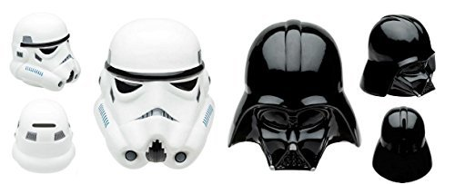Star Wars Coin Set (Star Wars Sculpted Coin Bank Bundle Set - Darth Vader and Stromtrooper)