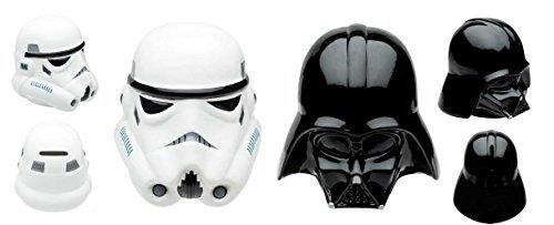 (Star Wars Sculpted Coin Bank Bundle Set - Darth Vader and Stromtrooper)