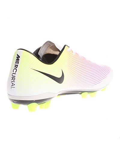 Nike Mercurial Veloce Ii Ag-r, Botas de Fútbol para Hombre Blanco (Blanco (White/Black-Volt-Total Orange))