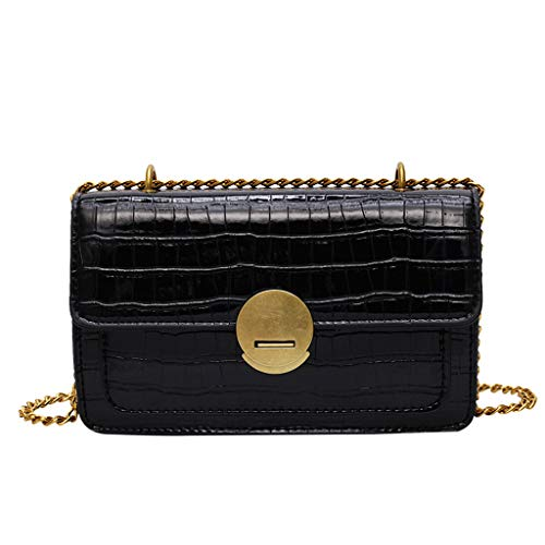 Pengy Women Quilted Crossbody Bag Girls Side Purse and Shoulder Handbags Designer Clutch with Chain